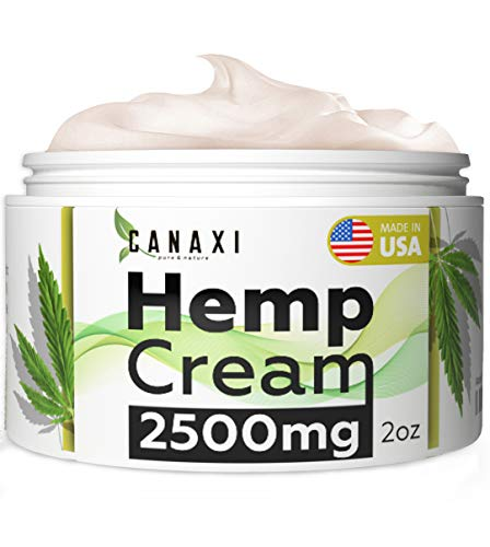 Natural Hemp Extract Pain Relief Cream 2500MG Hemp Balm Ointment Slave Contains Arnica for Inflammation Arthritis, Knee, Joint & Back Pain Muscle Pain Relief - Made in USA - EMU Oil - GMO-Free