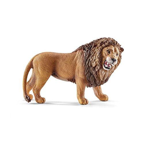 Schleich 14726 Lion Figurine, Brown