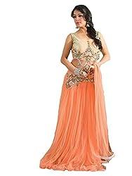 Kaizen Export Women Orange Gown