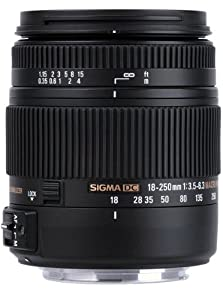 Sigma 18-250mm f3.5-6.3 DC MACRO OS HSM for Pentax Digital SLR Cameras