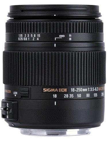 Sigma 18-250mm f3.5-6.3 DC MACRO OS HSM for Nikon Digital SL