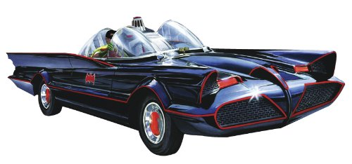 Round 2 Batmobile Classic 1:25 Scale Snap Model Kit