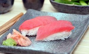 Frozen Sashimi Grade Yellowfin (Ahi) Tuna (Saku Block) - Two ~.7lbs Pieces