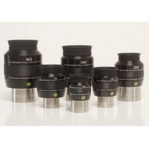 Explore Scientific Explore Scientific 68 Degree Series Argon-Purged Waterproof Telescope Eyepieces, 28Mm - 2 Inch