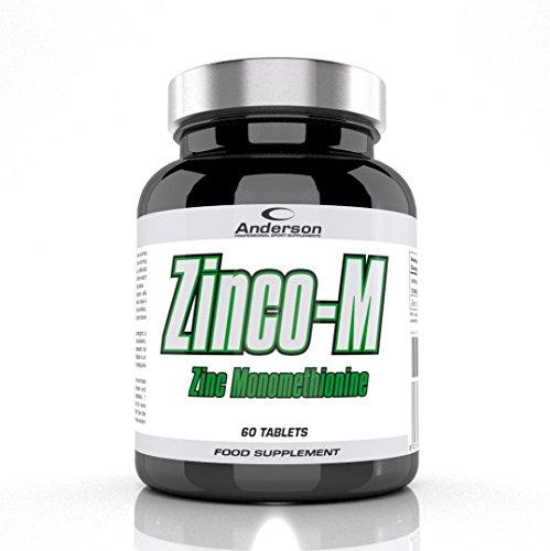 Integratore Anderson Zinco-M Zinco Mono I Metionina 60cpr