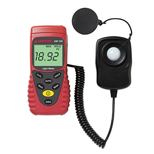 Amprobe LM-100 Light Meter with Silicon Photodiode and Filter