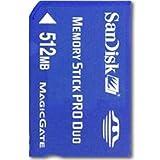 サンディスク Sandisk メモリースティック PRO Duo 512MB バルク品 マジックゲート対応