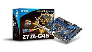 MSI 911-7752-001 Z77A-G45 Carte mère ATX Intel Socket 1155