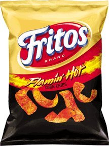 Fritos Flamin Hot Flavored Corn Chips 2875 Oz Bags Pack Of 34 from Frito Lay