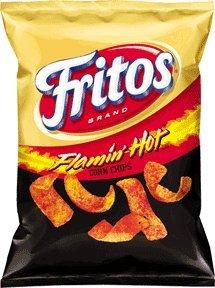 FRITOS® FLAMIN' HOT®( Flammen Scharf) gewürzte Mais-Chips