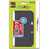 【3DS LL用】任天堂公式ライセンス商品 TPUやわ硬カバー for ニンテンドー3DSLL クリアブラック