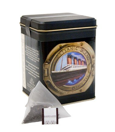 Harney & Sons RMS TITANIC Tea 20 Count Sachet Tin
