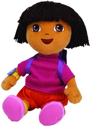 Ty Beanie Buddy - Dora the Explorer Soft Toy