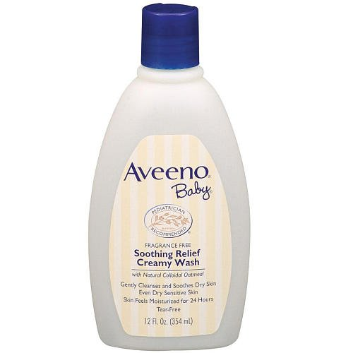 Aveeno Baby Soothing Relief Creamy Wash 12 Ounce