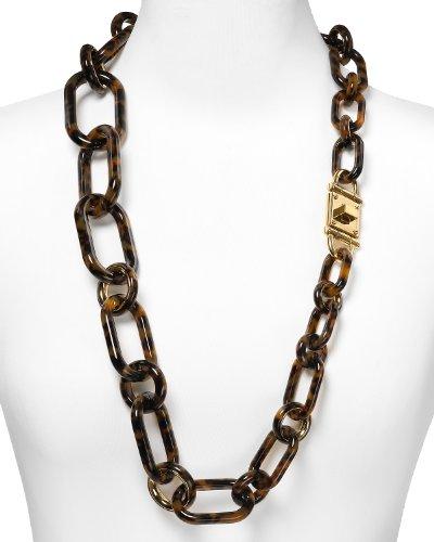 MICHAEL Michael KorsMichael Kors Tortoise Long Link Necklace MKJ1683