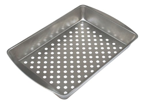Grill Sensations GS19TH Grill Top Pan, 12.8-Inch by 8.9-Inch by 2-Inch
