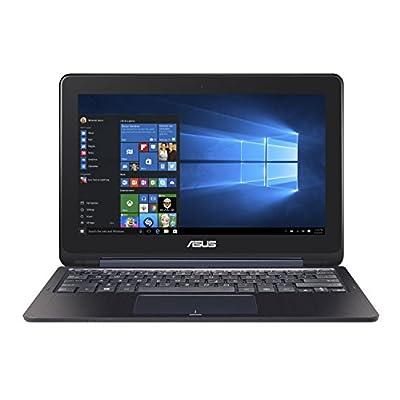 Asus Eeebook Flip E205SA-FV0114TS 11.6-inch Touchscreen Laptop (Celeron N3050/2GB/32GB/Windows 10/Intel HD), Dark...
