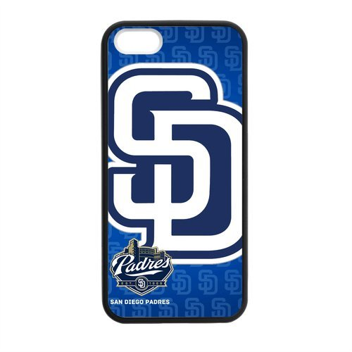 Unique Desgin MLB San Diego Padres Iphone 5 5S TPU Hard Cover Case at Amazon.com
