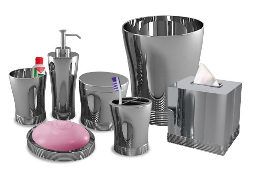 Nu Steel Bathroom Accessories Set ,7-Piece