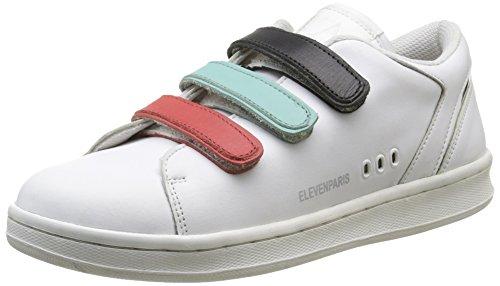 Eleven Paris11PRS - Scarpe da Ginnastica Basse Donna , Multicolore (Multicolore (Velcro Multico)), 38