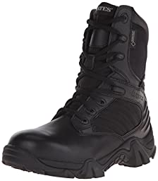 Bates Women\'s Gx-8 8 Inch Boot, Black, 8 M US