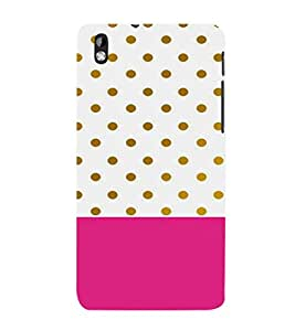 EPICCASE Polka dots pattern Mobile Back Case Cover For HTC Desire 816 (Designer Case)