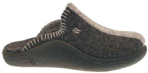 62 Romika Mokasso gioventù u.Damen pantofole, antracite, Grigio (Grau (anthrazit 700)), 41 EU