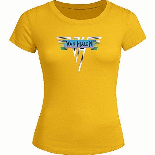 VAN HALEN For Ladies Womens T-shirt Tee Outlet