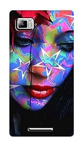 SWAG my CASE PRINTED BACK COVER FOR LENOVO VIBE Z K910 Multicolor