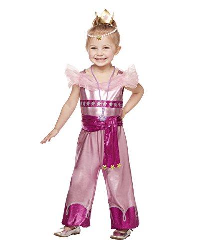 Spirit Halloween Kids' Leah Costume - Shimmer & Shine,Pink,5-6T