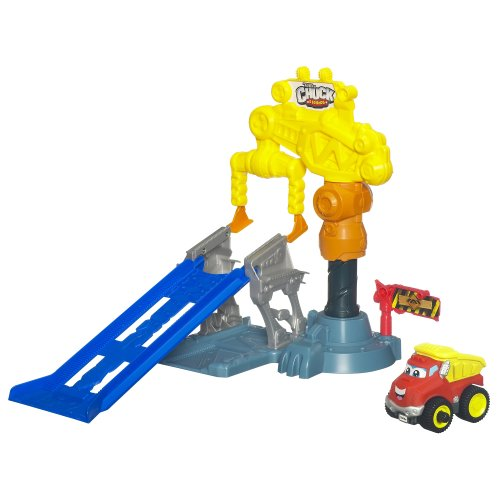 Tonka Chuck & Friends Power Playard Crazy Crane Stunt