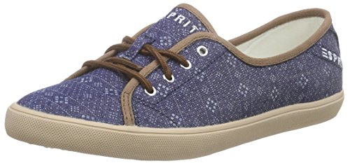 ESPRIT Mimosa Lace Up, Damen Sneakers, Blau (400 navy), 38 EU thumbnail