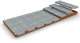 Simonrack Kit Simonforte EA 2406, Naranja Additional Metal Shelf