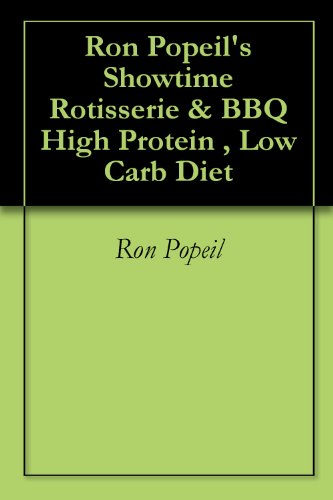 Ron Popeil's Showtime Rotisserie & BBQ High Protein , Low Carb Diet