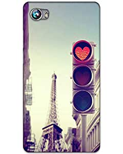 Hugo Micromax Canvas Fire 4 Back Cover Hard Case Printed