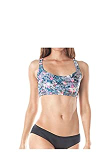 WITH Women's Sports Bra Cactus Flower Power X-Small