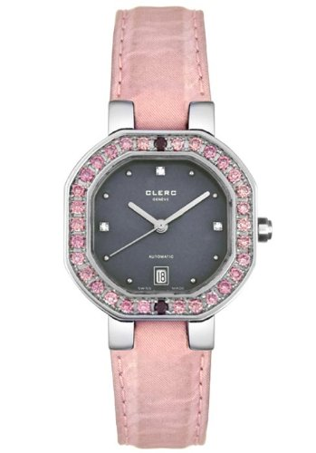 Clerc Women's C-One Pink Diamonds Satin 806-P