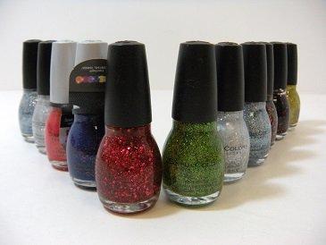 Lot of 7 Sinful Nail Polish - No Repeat Colors