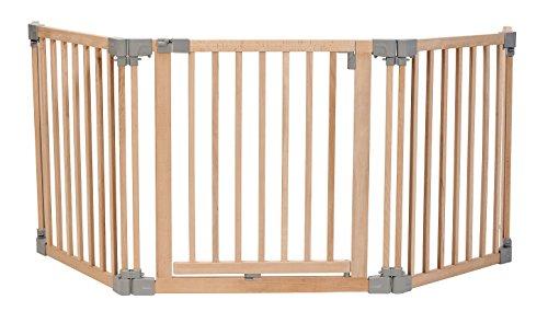 Impag-Absperrgitter-Laufstall-Laufgitter-flexibel-aus-Buche-Massivholz-200-440-cm-Robin-3