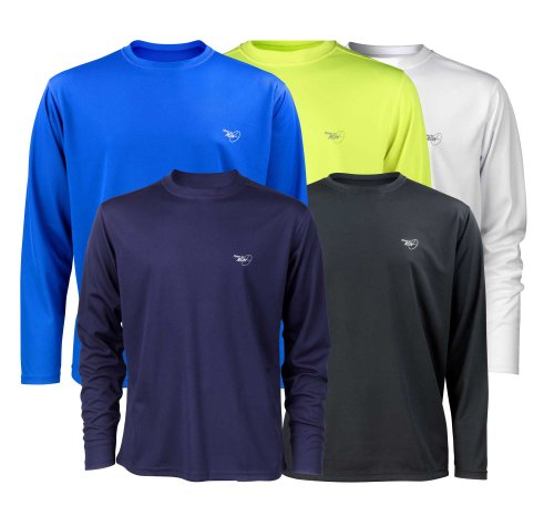 Time To Run Men's Favourite Long Sleeve Running T Shirt Top