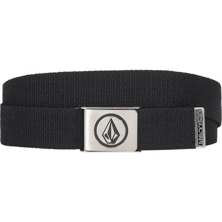 Volcom Skate Boarder Belt Circle Stone Black