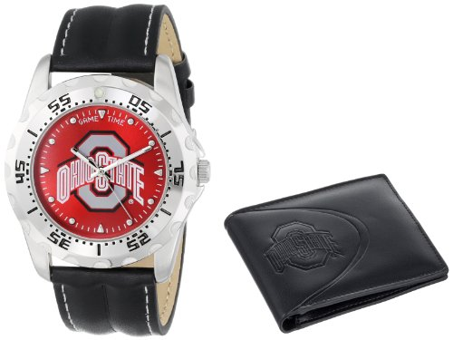 Game Time Unisex COL-WWS-OSU Wallet and Ohio State University College Watch Set at Amazon.com