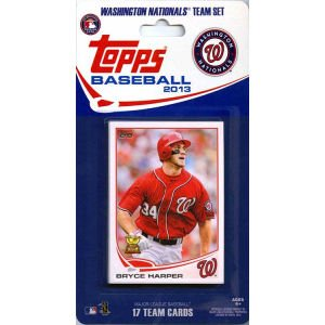 MLB Washington Nationals Licensed 2013 Topps® Team Sets