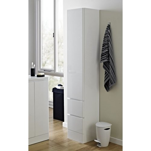 Geneva Tall Boy mobile da bagno by Showerdrape