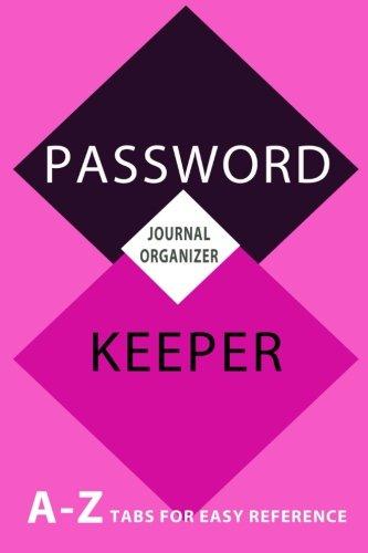 Password Keeper: Journal Organizer Book [Journals, Blank Books 'N'] (Tapa Blanda)