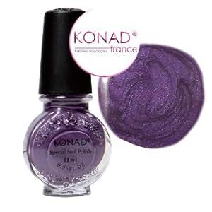 Vernis VIOLET stamping nail art Konad - 11ml