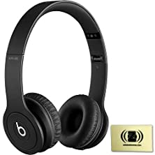 buy Beats Solo Hd Monochromatic Color Headphones Drenched In Black Bundle With Custom Designed Zorro Sounds Cleaning Cloth