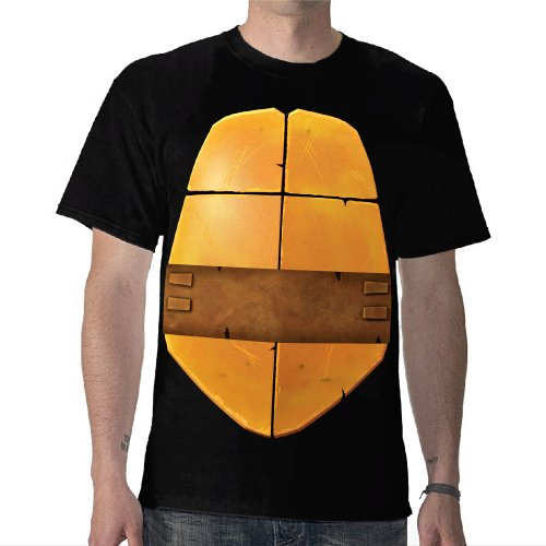 TMNT: Michaelangelo Shell Costume Tee - Adult