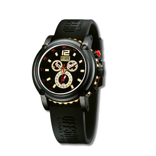 Offshore Men's Ballast Watch OFF 004 E with Silicone Strap