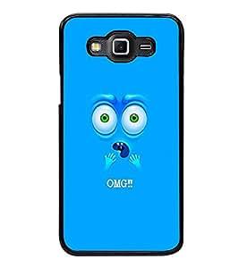Fuson Premium 2D Back Case Cover OH MY GOD With Black Background Degined For Samsung Galaxy E5::Samsung Galaxy E5 E500F